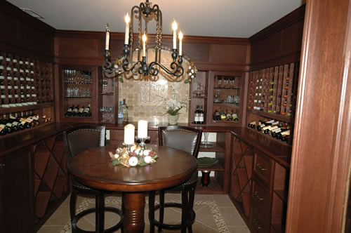 Beautiful Wine Room and Cellar