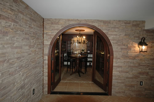 Perfectly Located Wine Room / Wine Cellar